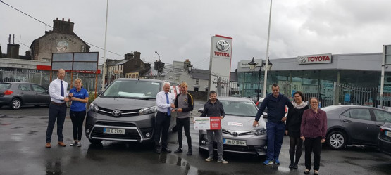 Race around Ireland Charity Cycle - Supported by Templemore Motors Toyota