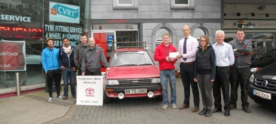"Templemore Motor Works sponsor ""Tipp to Mongolia"" rally"